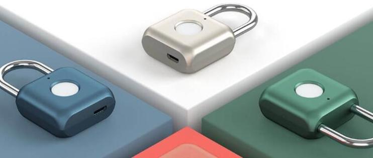告别钥匙密码,优点科技推出Kitty指纹挂锁售价109元